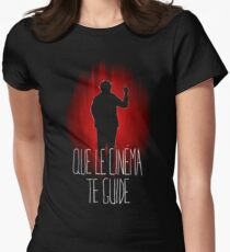 UM15 - QUE LE CINEMA TE GUIDE Women's Fitted T-Shirt