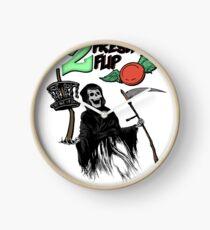 Reloj Disco Golf Deporte Disco volador Grim Reaper Monster Art