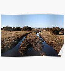 Following Tracks - Bodmin moor Poster