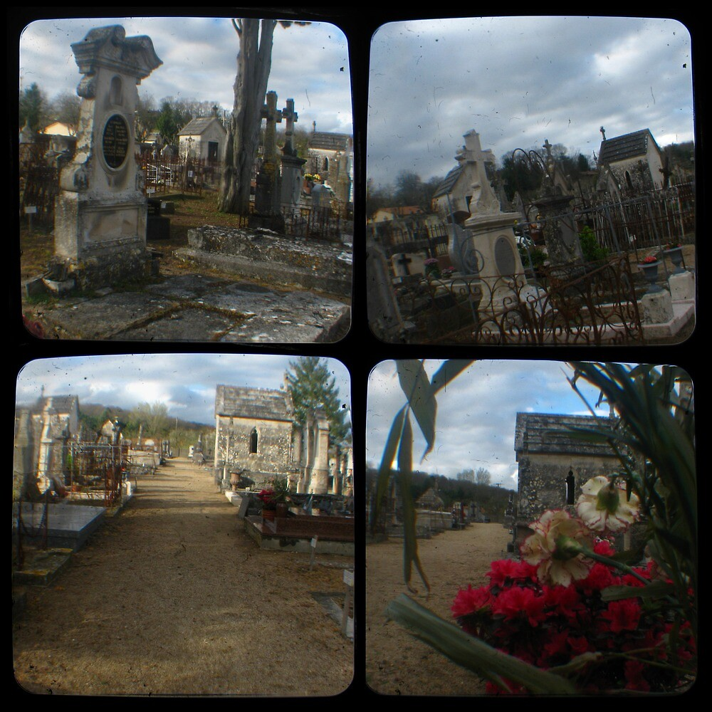 Village Cemetery by seriykotik