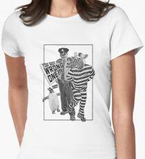 das falsche Tailliertes T-Shirt für Frauen