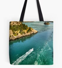 Strong Current Tote Bag