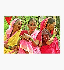 Waari - The Colors of India #2 Photographic Print