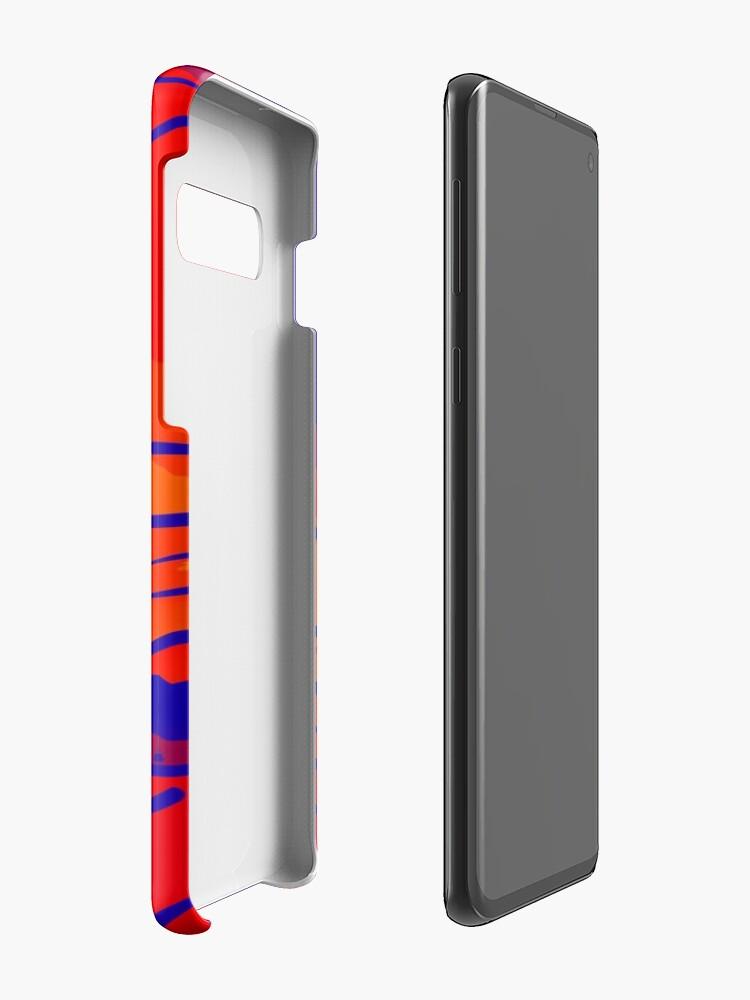 Alternative Ansicht von abstract style aurora borealis absbry Hülle & Klebefolie für Samsung Galaxy