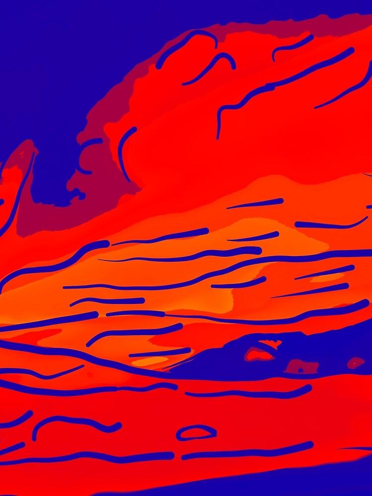abstract style aurora borealis absbry von gxp-design