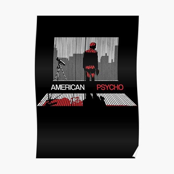 American psycho - Minimalist design Poster