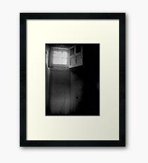 Pocock Brothers' Cell II ~ West Park Asylum Framed Print