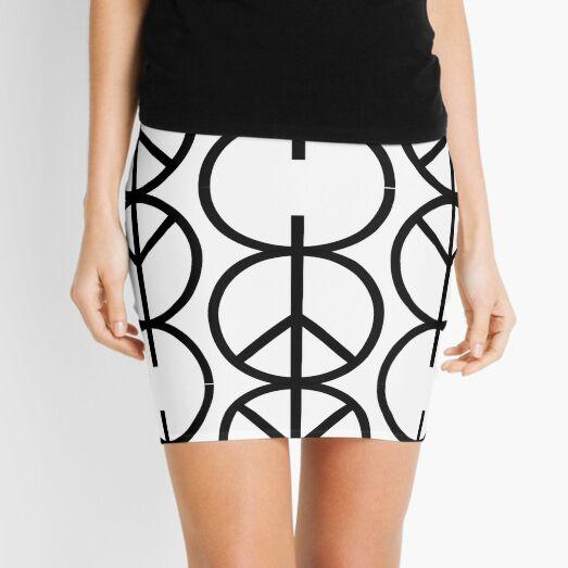Wabi$abi symbol Mini Skirt