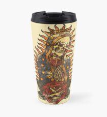 Santa Muerte Travel Mug