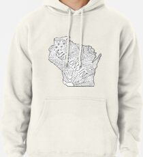 Wisconsin State Doodle Hoodie