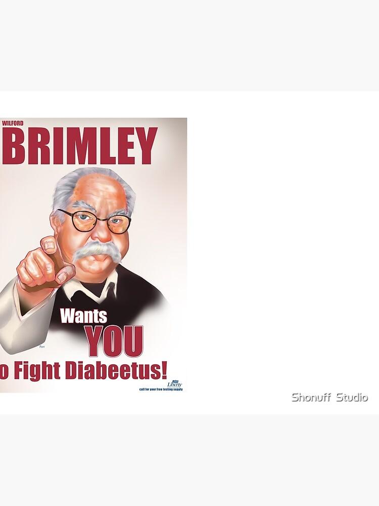 Wilford Brimley Propaganda poster by darthterry
