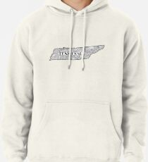 Tennessee State Doodle Hoodie