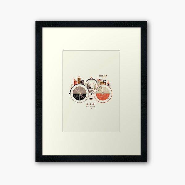 Free Rider Framed Art Print