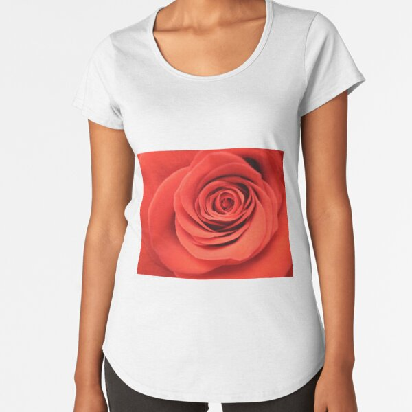 The queen of the flowers Premium Scoop T-Shirt