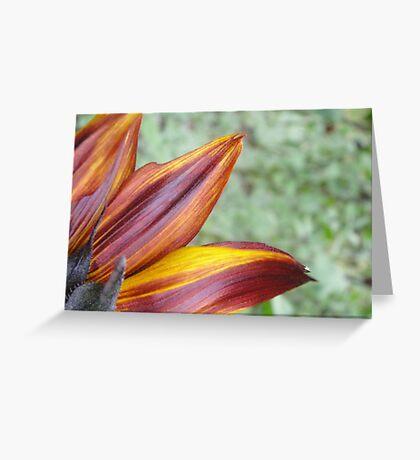 Flaming Tongues! Greeting Card