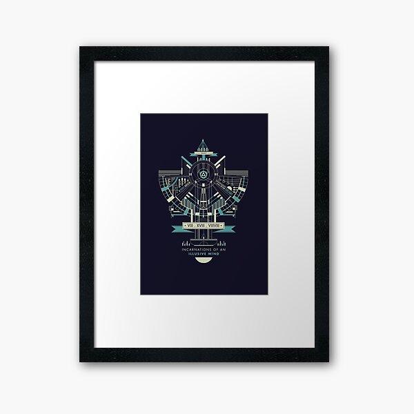 Illusive Minds Framed Art Print
