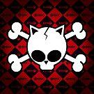 Skull and Cat Bones by Frank Pena