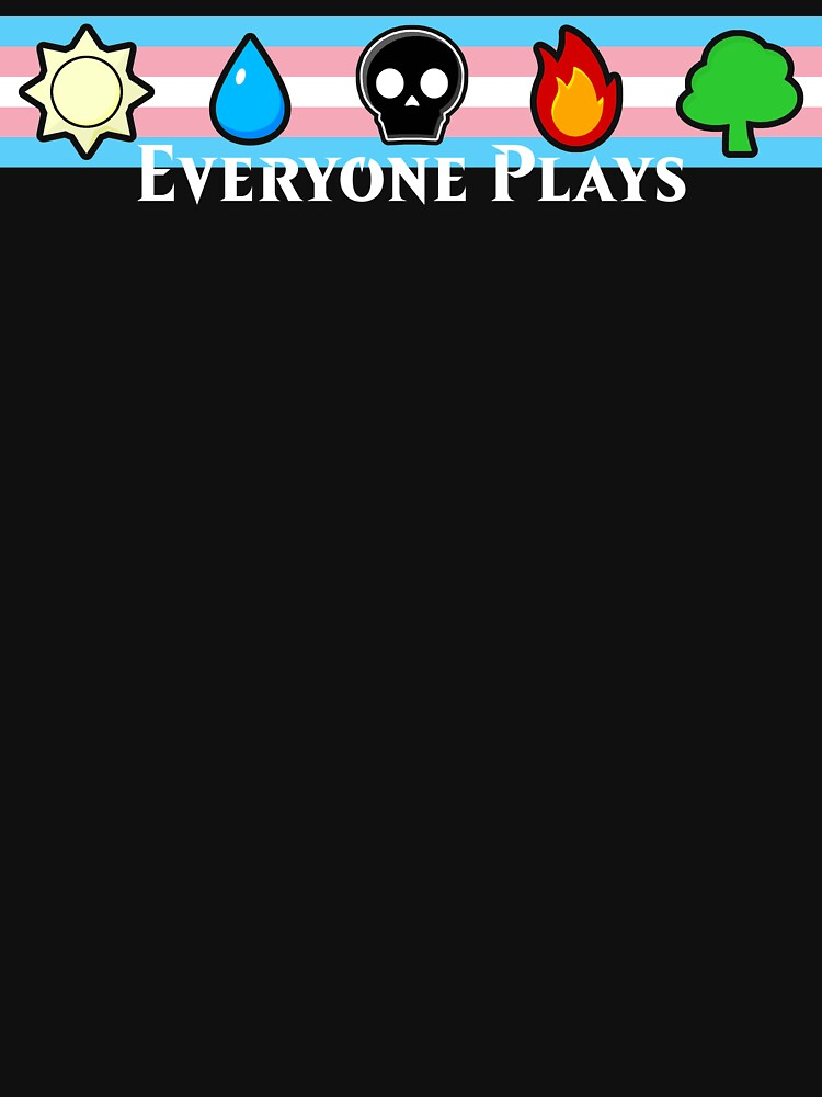 MTG - Everyone Plays (White Text) by TalenLee