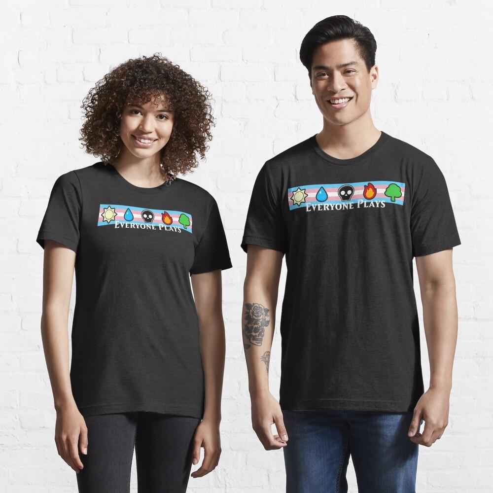 MTG - Everyone Plays (White Text) Essential T-Shirt