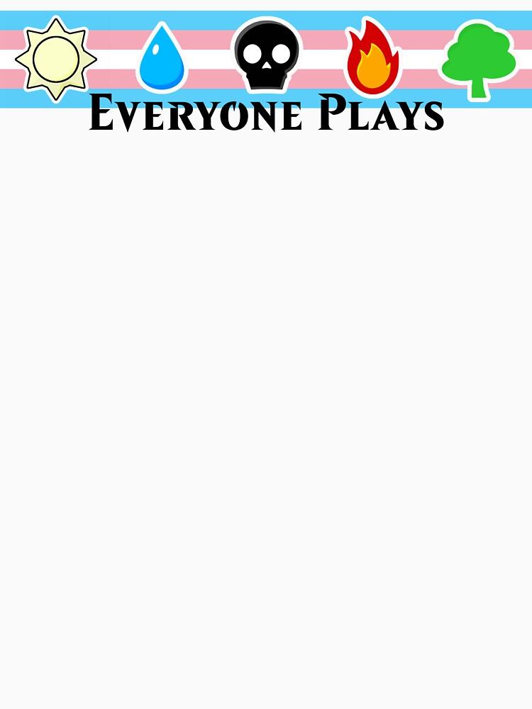MTG - Everyone Plays (Black Text) by TalenLee