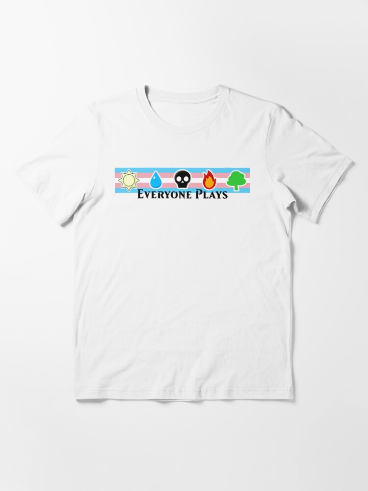 Alternate view of MTG - Everyone Plays (Black Text) Essential T-Shirt