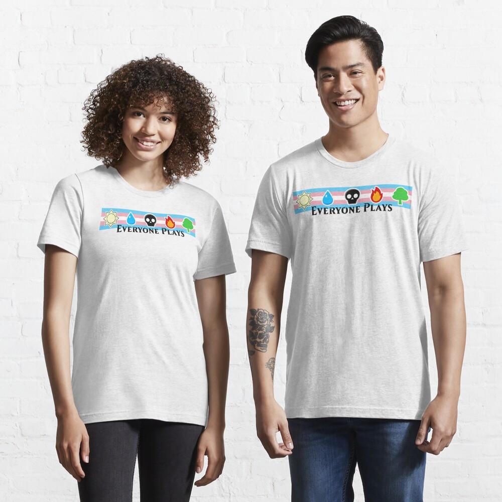 MTG - Everyone Plays (Black Text) Essential T-Shirt