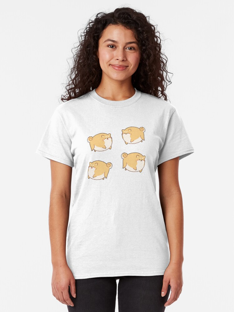 Alternate view of Round Shibes ! Classic T-Shirt