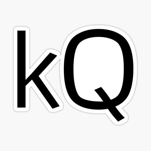 Keegan Quinn logo Sticker
