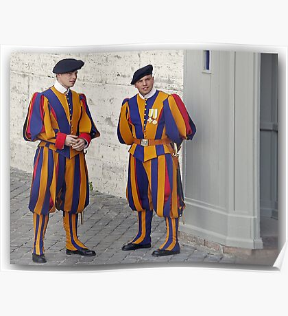 Greetings from the Med / The Swiss Guards Poster