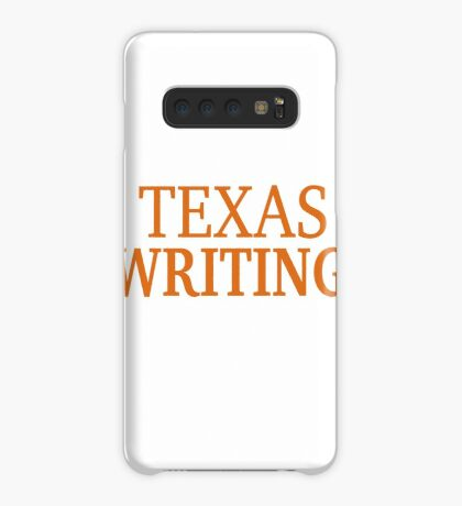 Texas Writing Case/Skin for Samsung Galaxy