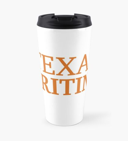 Texas Writing Travel Mug