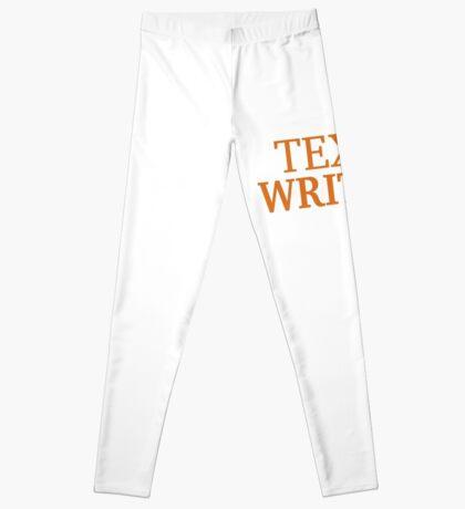 Texas Writing Leggings