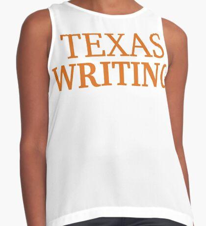 Texas Writing Sleeveless Top