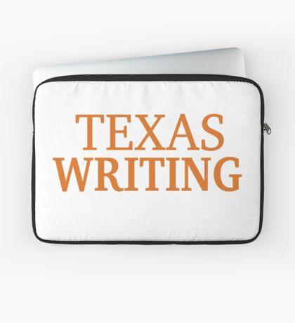 Texas Writing Laptop Sleeve