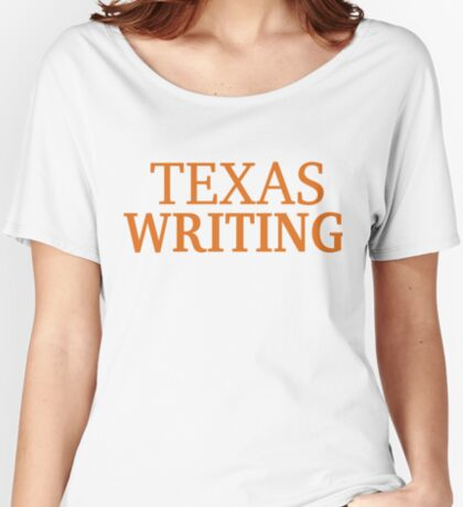 Texas Writing Relaxed Fit T-Shirt
