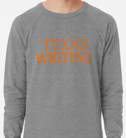 Texas Writing Lightweight Sweatshirt