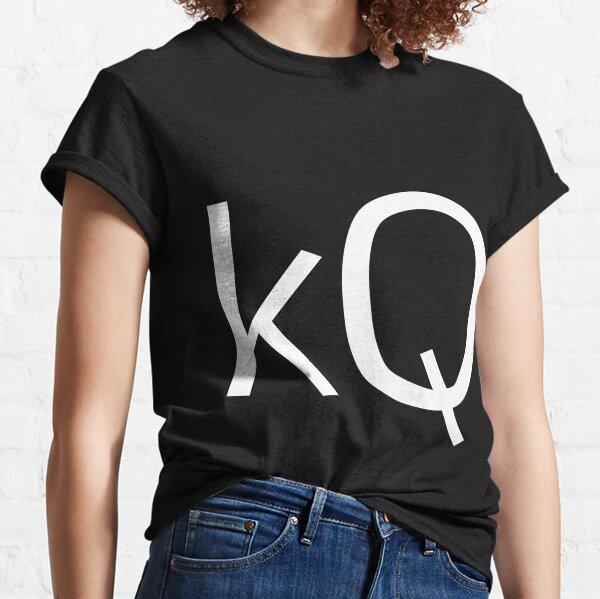 Keegan Quinn logo (white) Classic T-Shirt