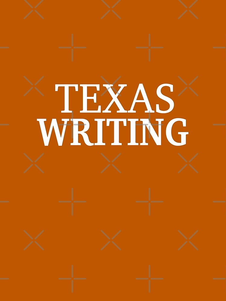 Texas Writing with White Text by willpate