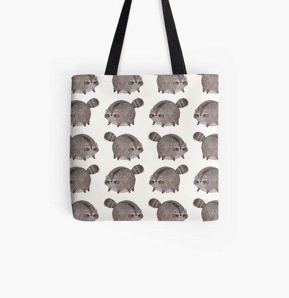 Chubby Trash Panda Tote bag doublé