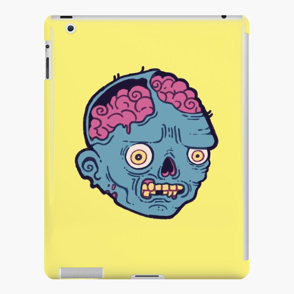 Zombie Brains - I bite iPad Case & Skin