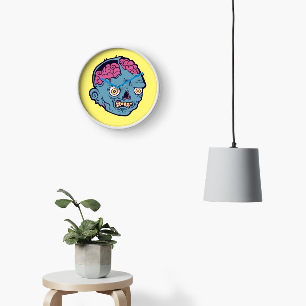 Zombie Brains - I bite Clock