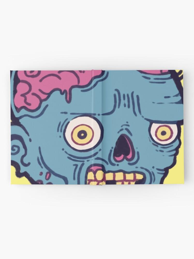 Alternate view of Zombie Brains - I bite Hardcover Journal