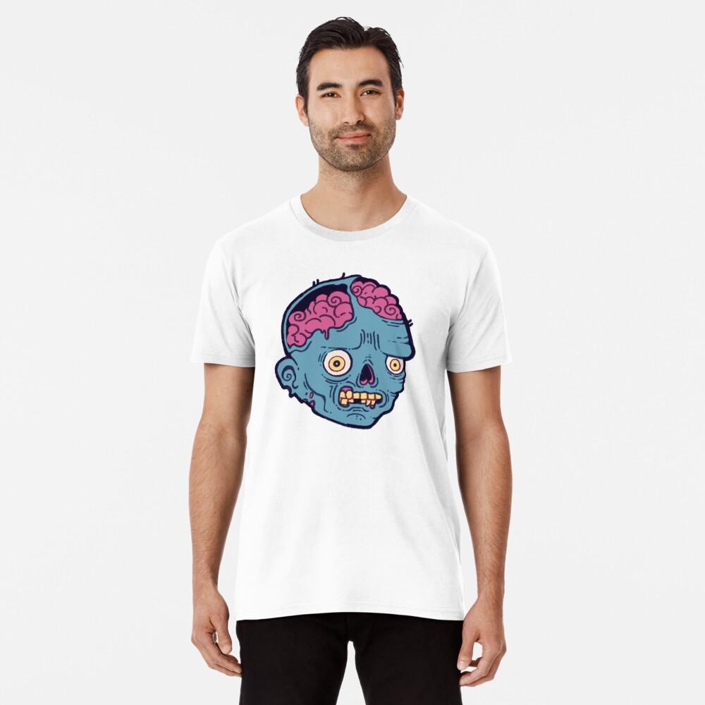 Zombie Brains - I bite Premium T-Shirt