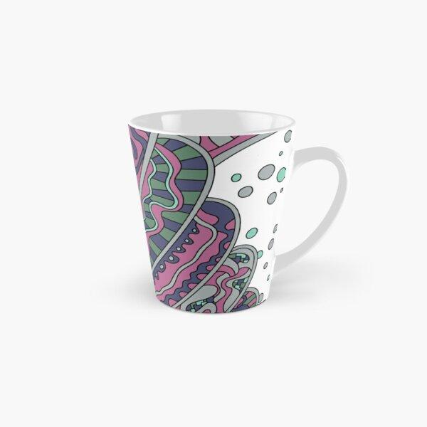 Wandering Abstract Line Art 11: Pink Tall Mug
