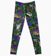 Vaporwave-Rainbow Pokeberry Dimension Leggings