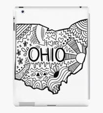 Ohio Gekritzel iPad-Hülle & Klebefolie