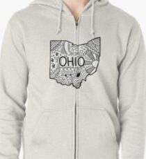 Ohio Gekritzel Kapuzenjacke
