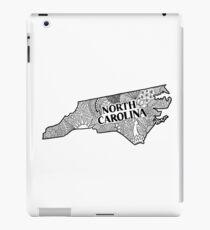 North Carolina State Gekritzel iPad-Hülle & Klebefolie