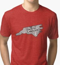 North Carolina State Gekritzel Vintage T-Shirt