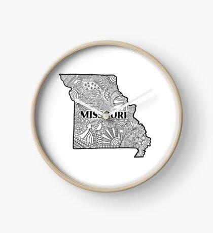 Missouri State Doodle Uhr
